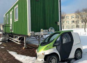 【千歳学ノート vol.12】「産官学による厳寒期の移動式仮設住宅について」